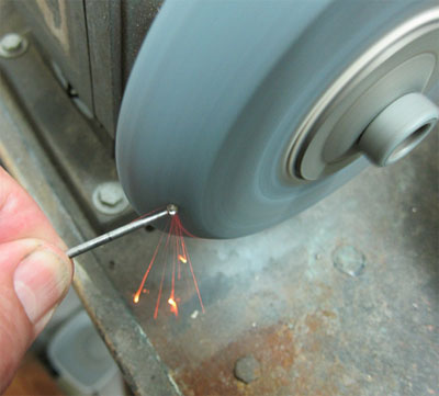 making rotary burnishing tools shaping