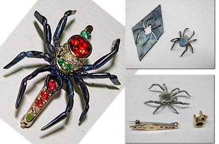 Nest Wall Sculpture Sider Brooch Components